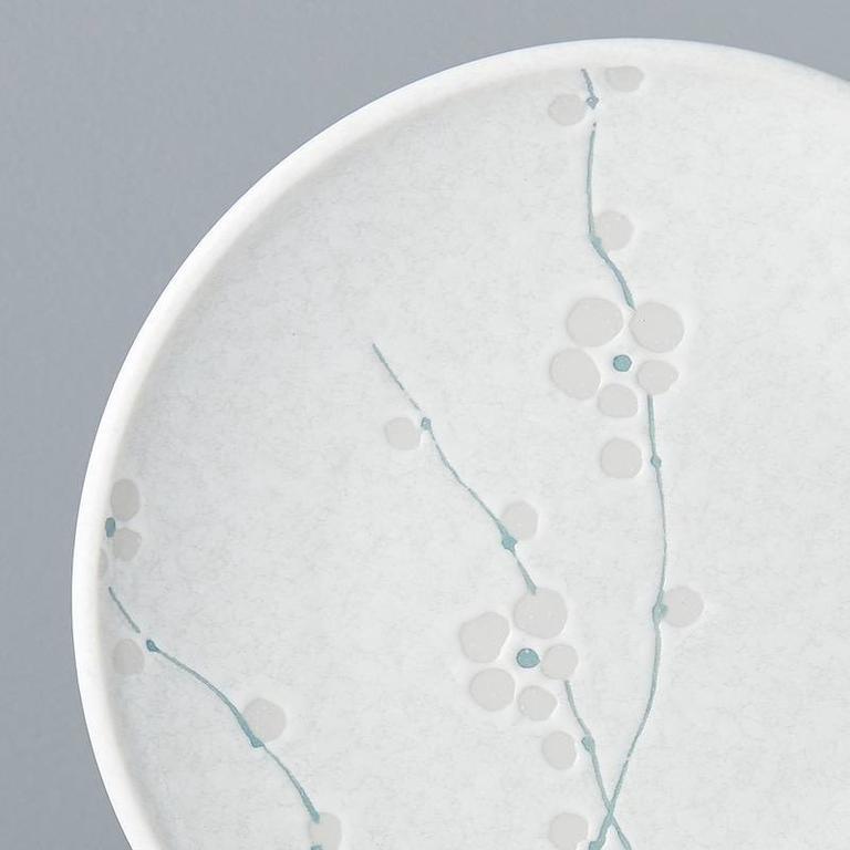 White Blossom side plate 20cm