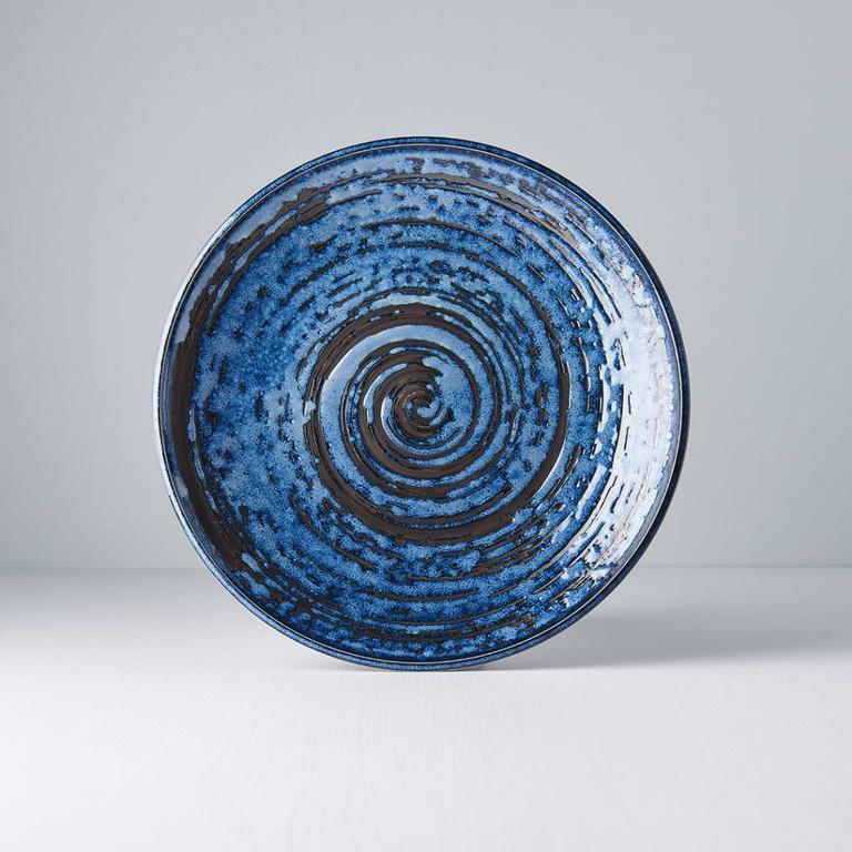Copper Swirl dinner plate 25cm