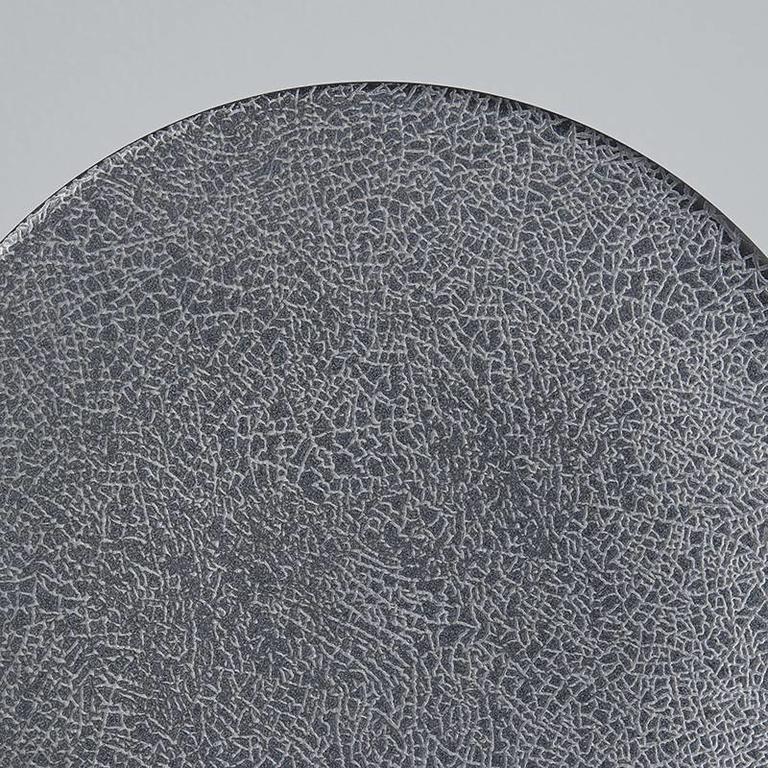 Aska Black Grain Plate 23.5cm