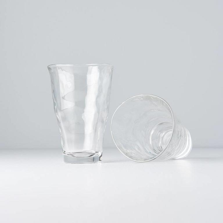 GLASS ORGANIC LGE SIZE 13H 340ml