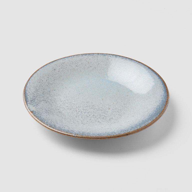 Steel Grey tapas plate 17cm x 2cm