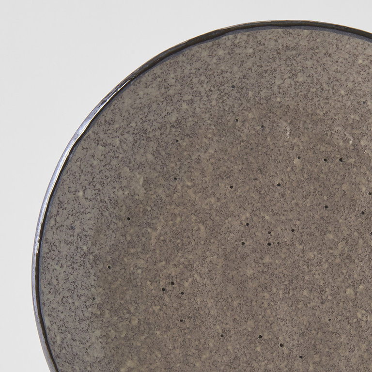 Earth round plate 24cm