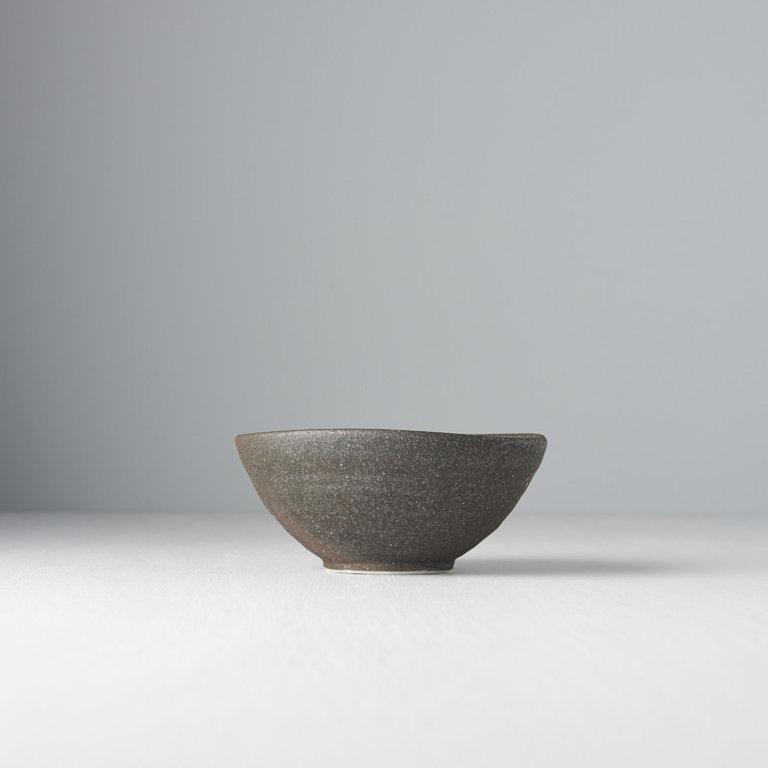 Stone slab egg-shaped bowl 13cm