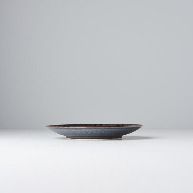 Black Pearl tapas plate 17cm