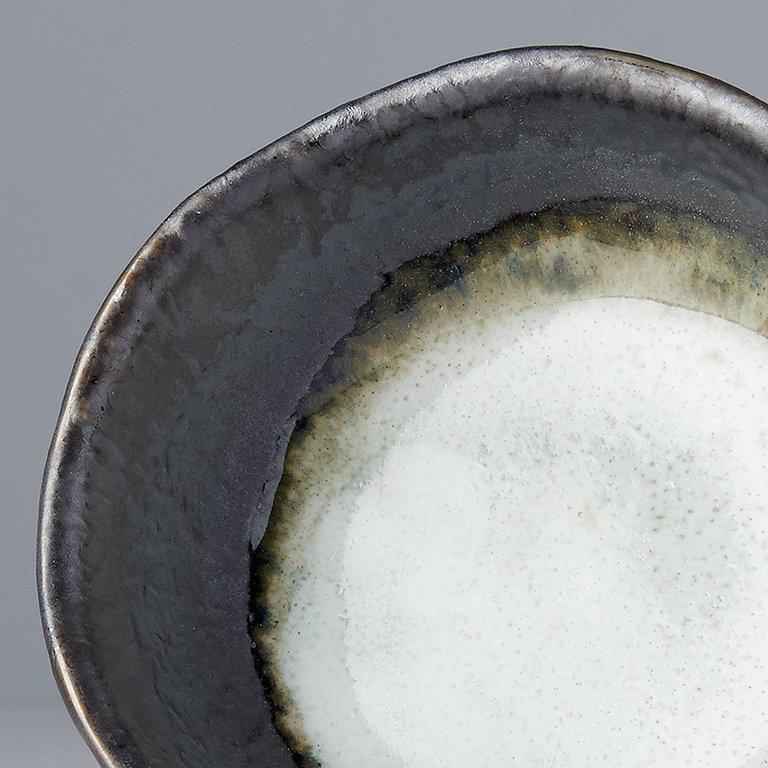 Sauce dish round 8cm Grey