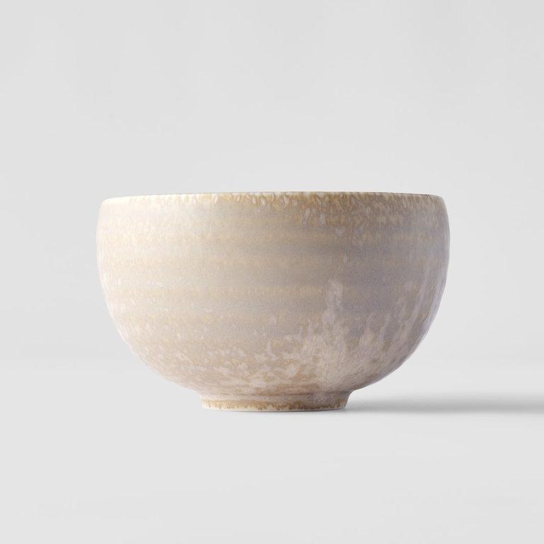 White Fade u-shaped bowl 13cm x 7.5cm