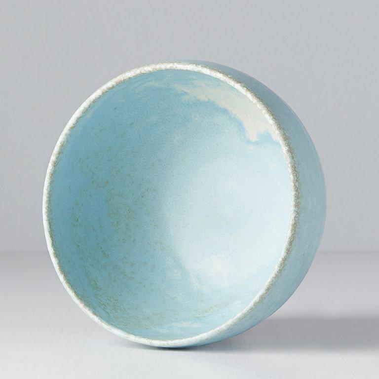 Soda Blue U shape bowl 11cm x 7cm