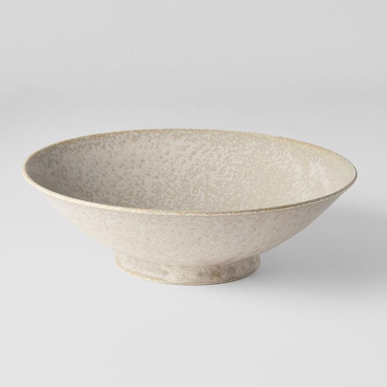 White Fade ramen bowl  25H x 7.5H