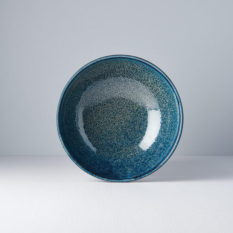 INDIGO BLUE BOWL USHAPE 21DX8H