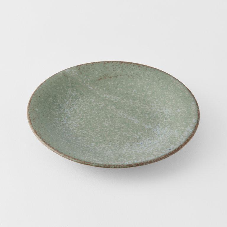 Green Fade tapas Plate 17cm x 3cm