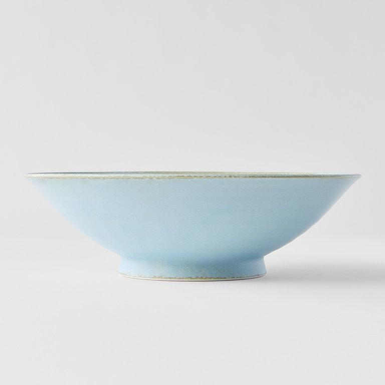 Soda Blue ramen bowl 25cm x 8cm