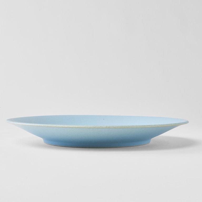 Soda Blue dinner plate 28cm x 3cm