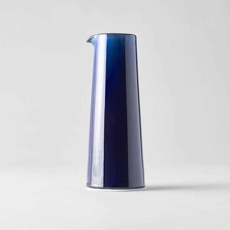 Sapphire Blue tall pourer tapered shape 22cm 500ml