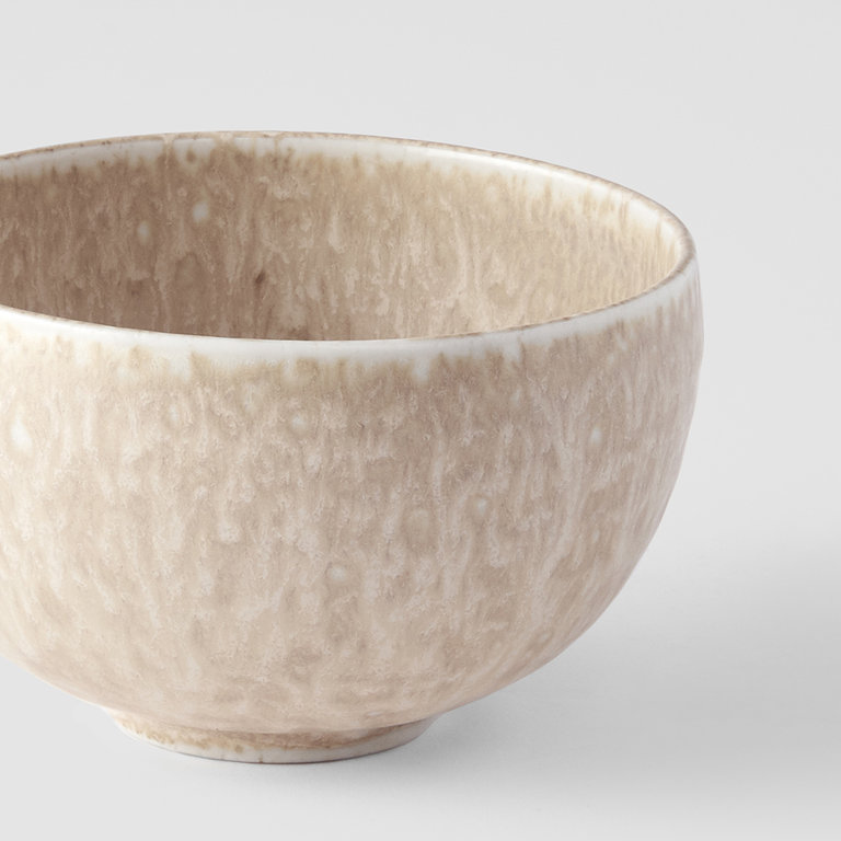 White Fade U-shaped bowl rounded 11cm x 7cm