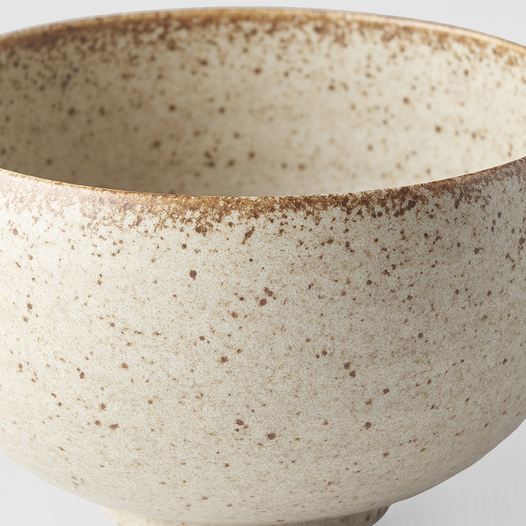 Sand Fade U Shaped rounded bowl 13cm x 7.5cm
