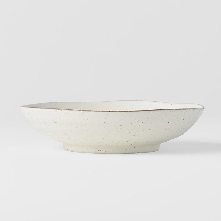 Fleck shallow open bowl 21cm x 5cm