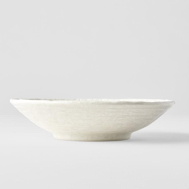 White Star shallow open bowl 24cm
