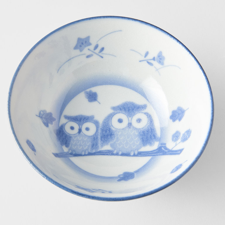 Owl design small kids bowl