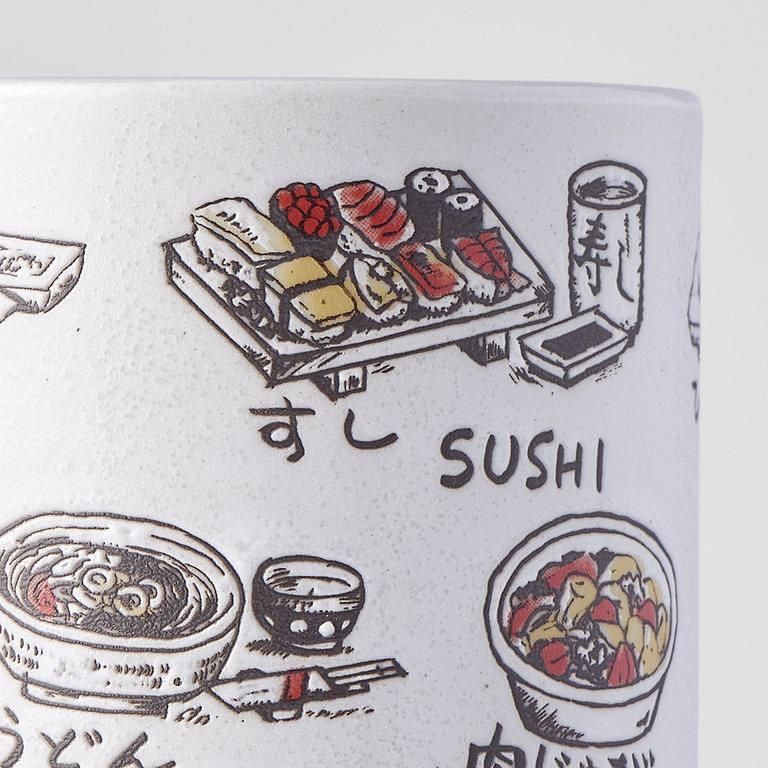 Sushi Mug Japanese food 10cm 275ml