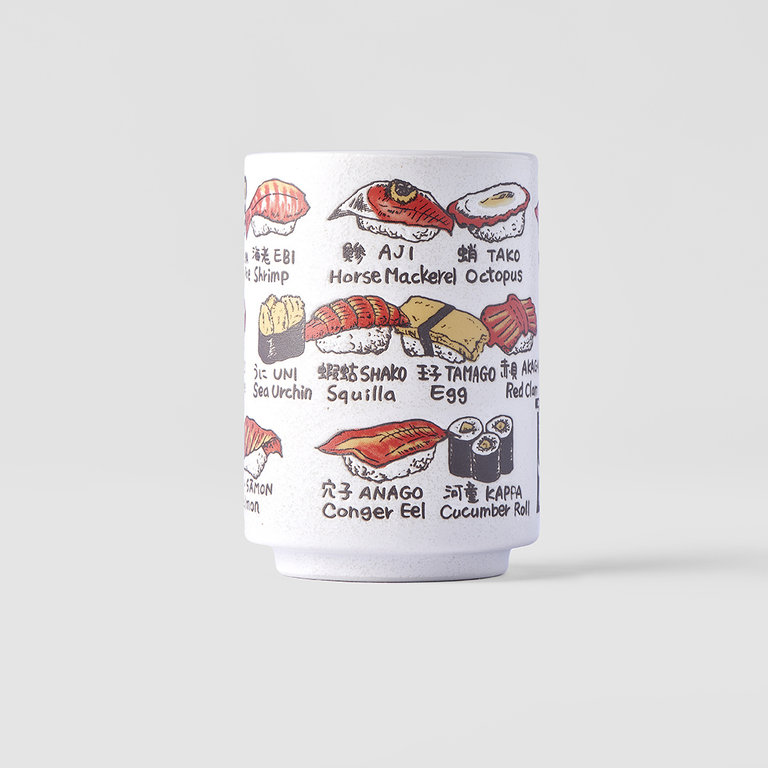Sushi Mug featuring Sushi pieces 10cm