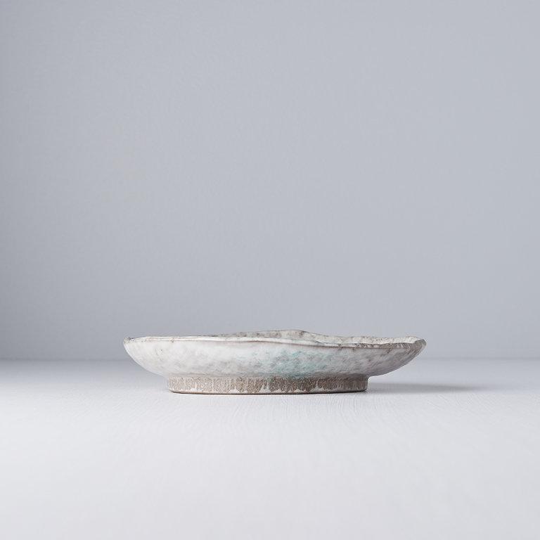 Aqua Splash oval plate 20cm x 14cm
