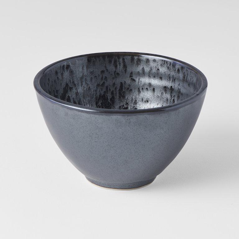 Black Pearl U shaped small bowl 13cm 8cm