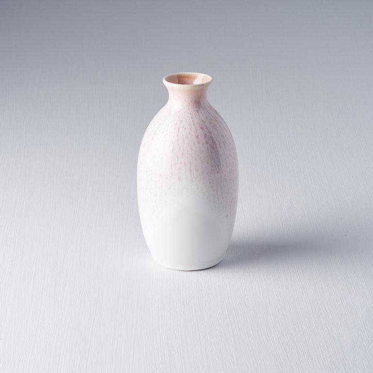 Sake Jug white and pink 300ml