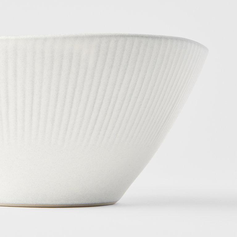 Snow Leaf large bowl 18cm x 7cm