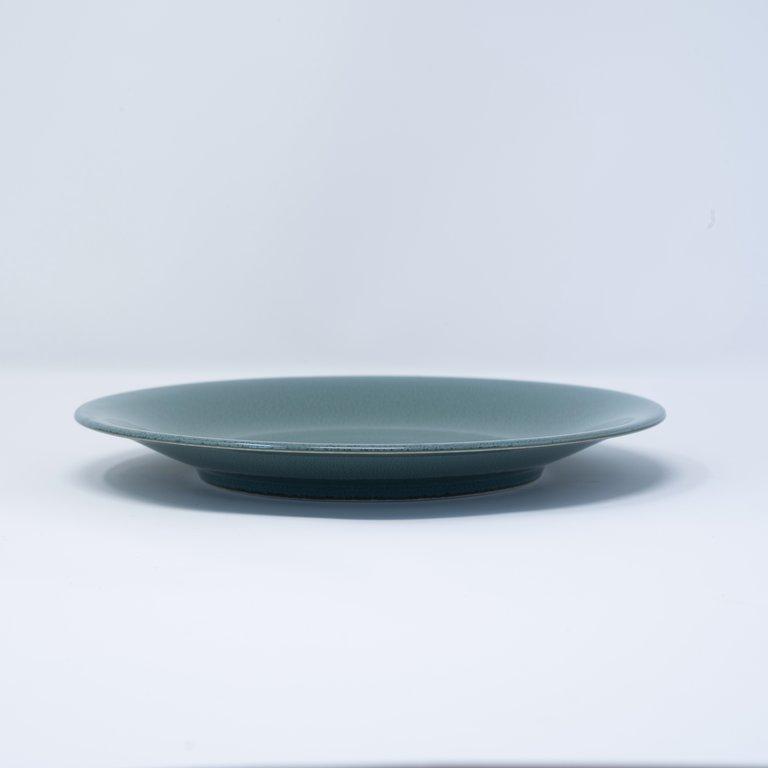 Peacock side plate 21cm x 2.5cm