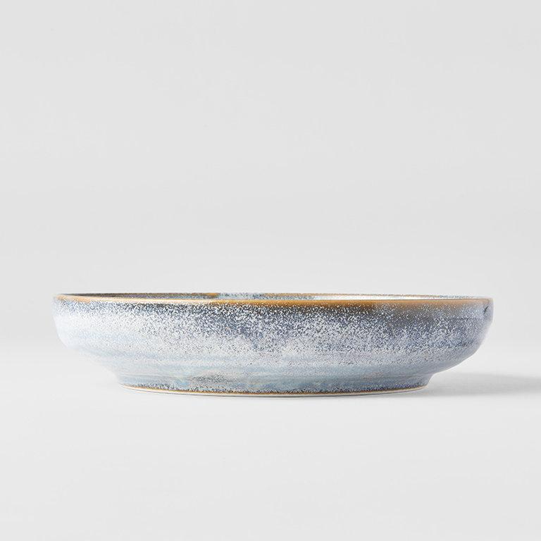 Steel Grey high rim plate 20cm x 4cm