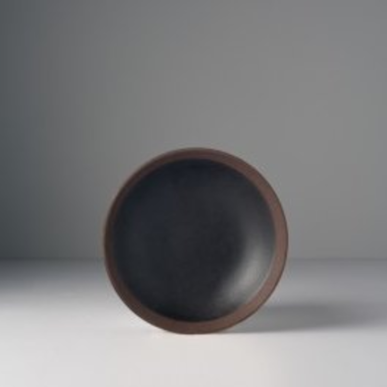 Black and Brown small plate