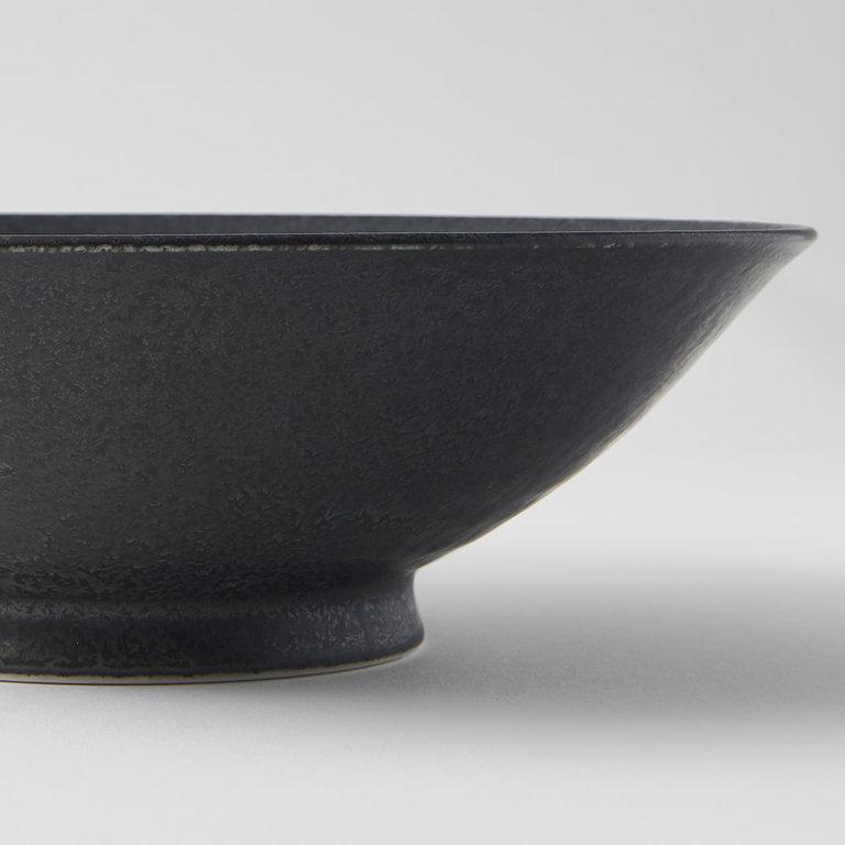 BB Black ramen bowl 25cm x 7.7cm