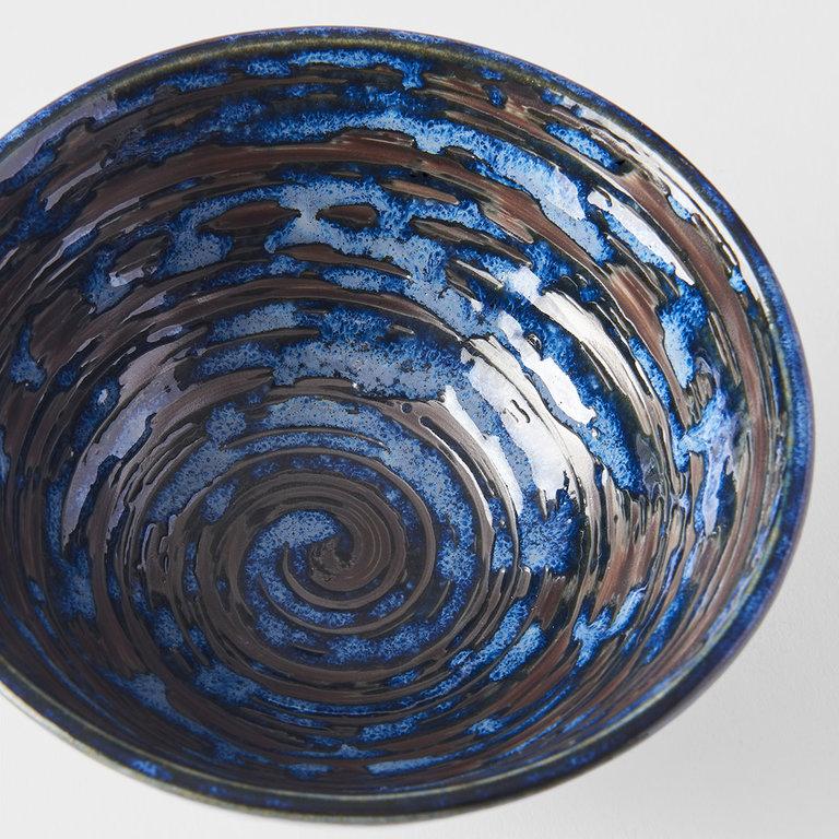 Copper Swirl medium bowl 16cm x 7.5cm