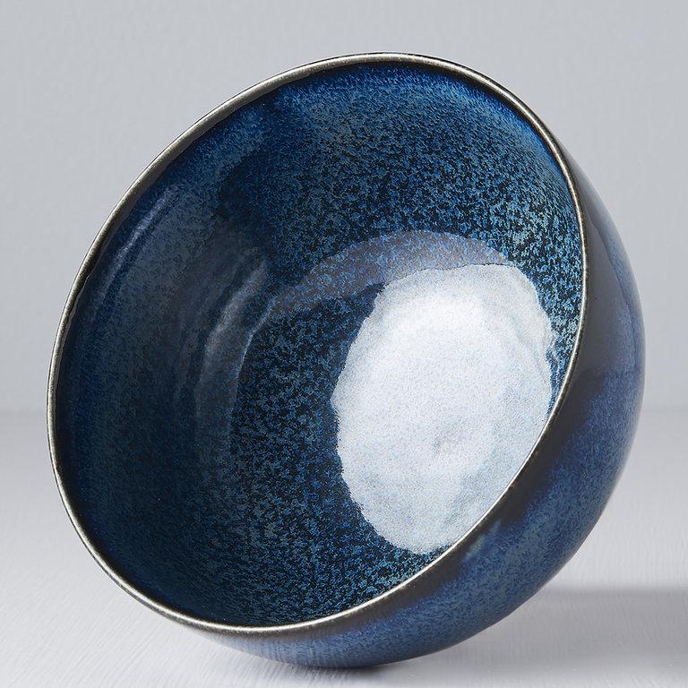 Indigo Blue bowl u shape 13cm