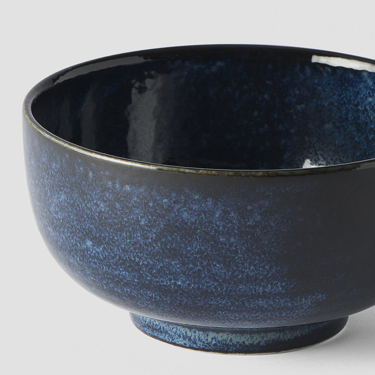 Indigo Blue bowl u shape 16cm x 8cm