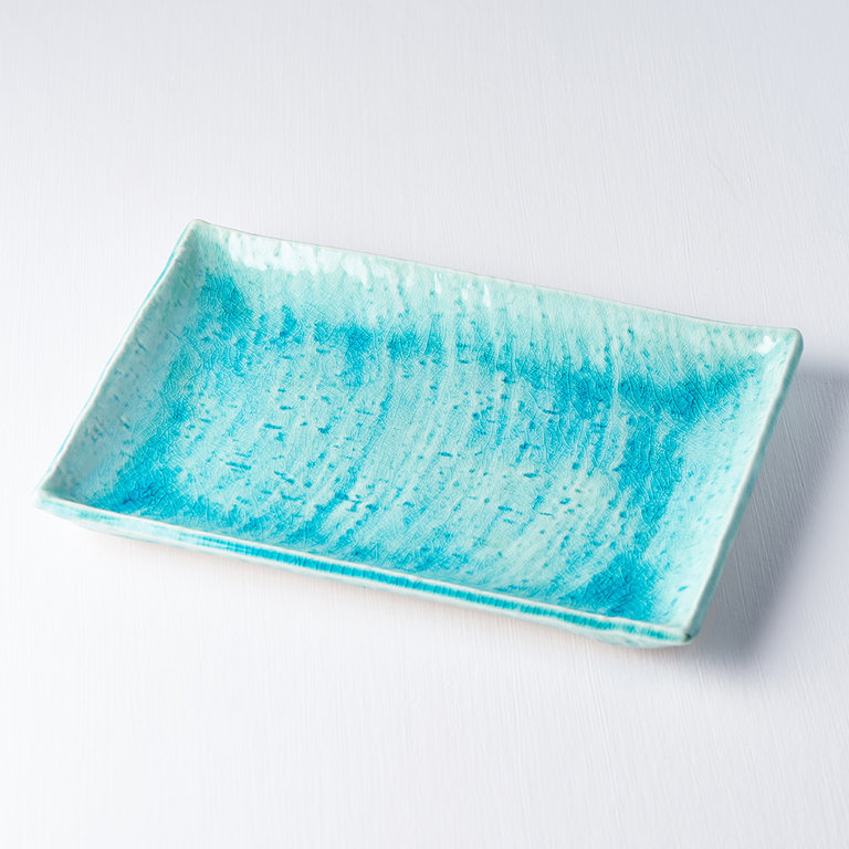 Sushi Plate turquoise 27cm x 20cm