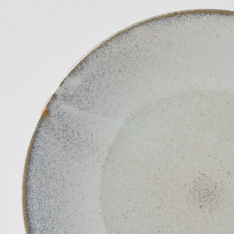 Steel Grey dinner plate large 28cm x 3.3cm