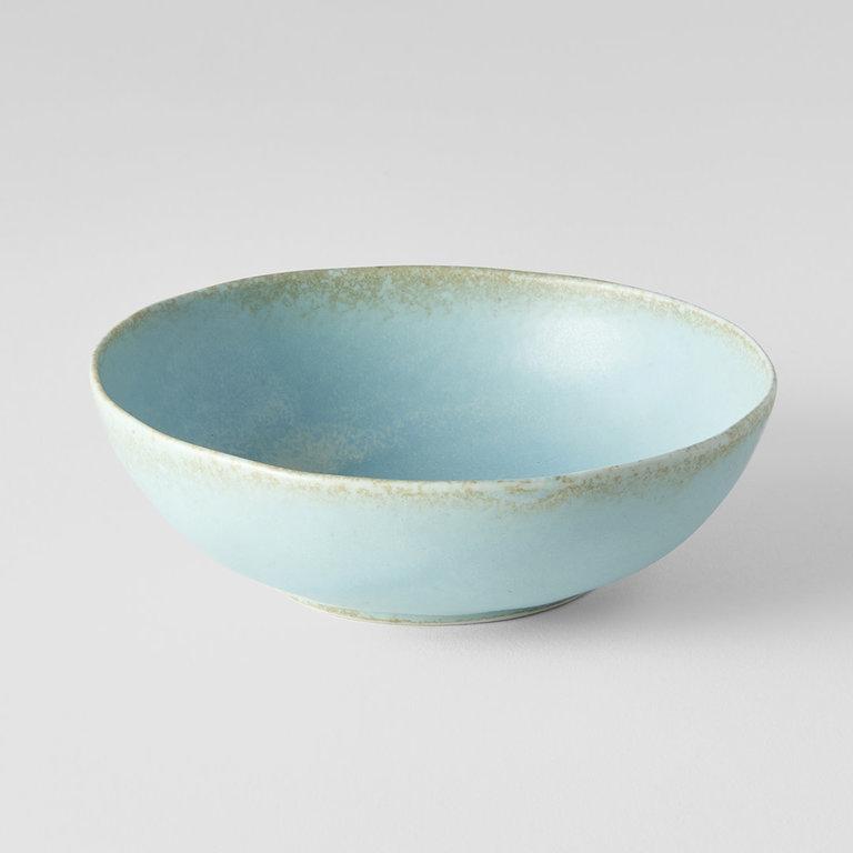 Soda Blue Oval bowl small 14cm x 13cm x 4cm