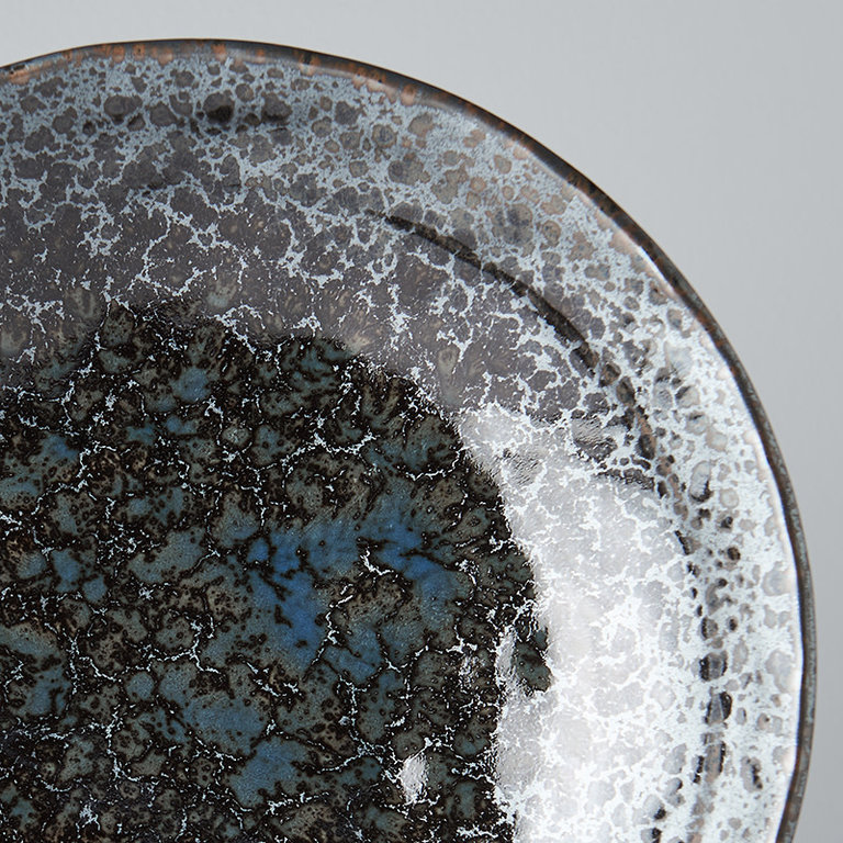 BLACK PEARL SHALLOW OPEN BOWL 24D 5.5H