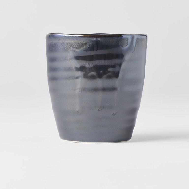 SUSHI MUG BLACK - METALLIC DRIP 9.5H 325ml