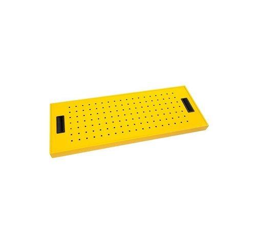 Zeefplaat Voor Veiligheidskast In De Kleur Geel RAL1021