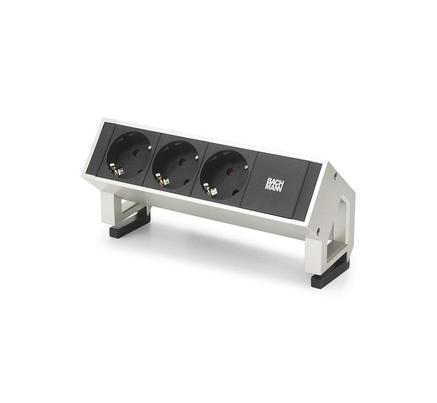 Bachmann Desk 2 Opbouw Stopcontact Met 230V Aansluiting
