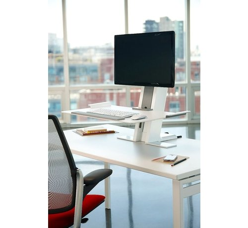 Humanscale QuickStand Zit-Sta Oplossing