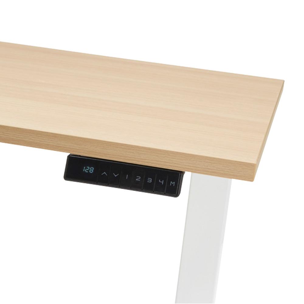 Bedien dit bureau eenvoudig met het digitale display en 4 geheugenstanden