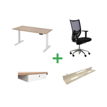 Complete sets met bureau en bureaustoel