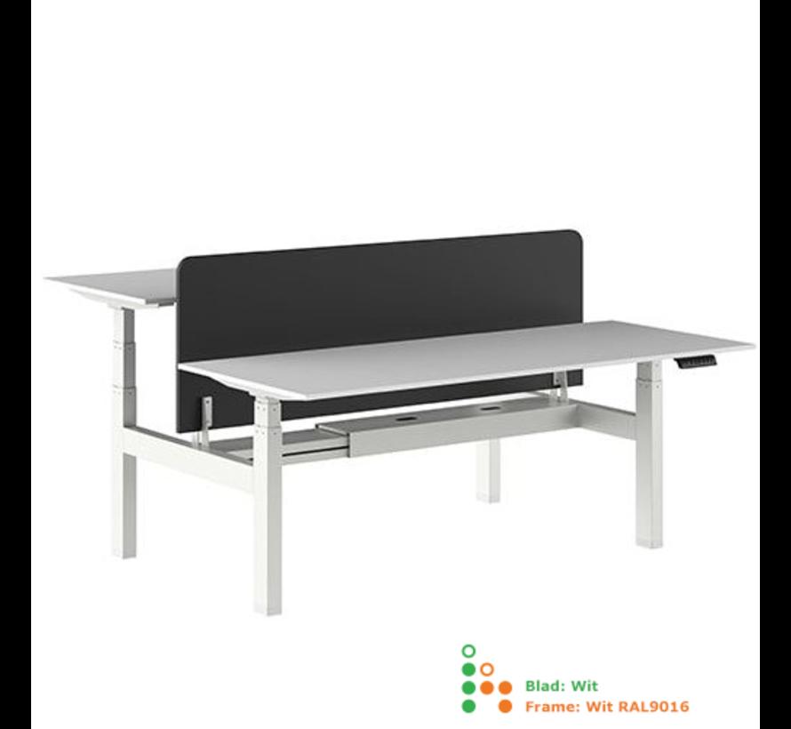 Ergo-Duo-Pro Dubbel Elektrisch Verstelbaar Bureau