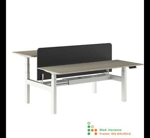 Ergonice Office Ergonomics Ergo-Duo-Pro Dubbel Elektrisch Verstelbaar Bureau