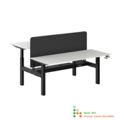 Ergonice Office Ergonomics Ergo-Duo-Move 115 (zit-sta model)