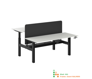 Ergonice Office Ergonomics Ergo-Duo-Move 115 (zit-sta model)