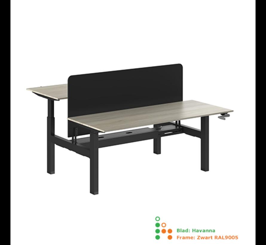 Ergo-Duo-Move 88 Dubbel Handmatig Verstelbaar Bureau
